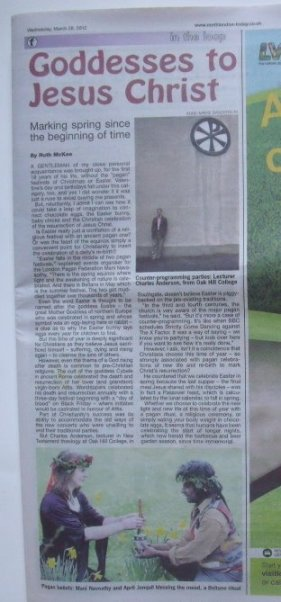 The article in Enfield Gazette 28march2012