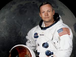 A dedication to Neil Alden Armstrong - first man on the Moon