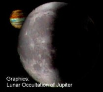 lunar occultation of jupiter