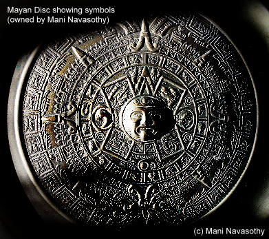 Mayan Calender Disc(c)Mani Navasothy