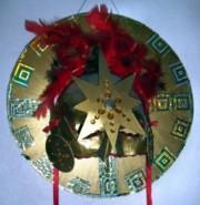 A Mayan Sun-Mask