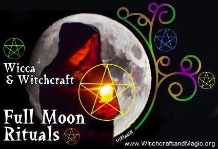 Wicca & Witchcraft - Monthly Full Moon Rituals 2013 - London