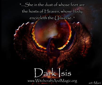 Dark Isis - art by Mani Navasothy  www.ArtofMani.co.uk