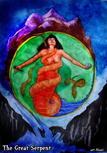 Great Serpent (c) Mani Navasothy 2013