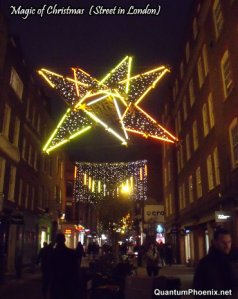Magic of Christmas (a street in central London)