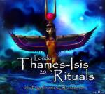 Thames Isis Rituals 2013 www.PaganFrontiersofLondon.com
