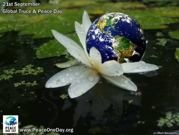 Early thoughts on International Peace Day.. (21st September)