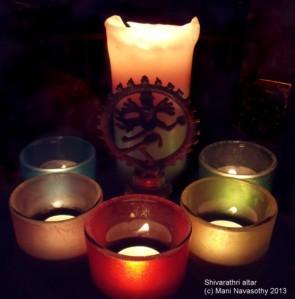 Shivarathri -Candles(c) Mani N'13
