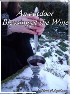 Blessing of wine -Witchcraft & Magic