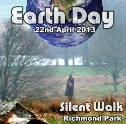 Earth Day 2013 - Silent walk in Richmond park