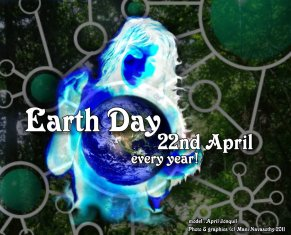 Earth Day 22nd April - every year (c) Mani Navasothy 2011