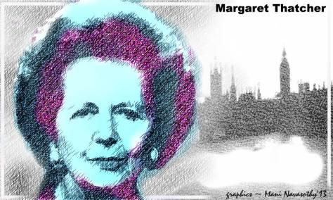 Margaret Thatcher (c) Mani Navasothy 2013