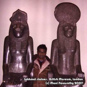 Sekhmet Statues 2007 -ManiN2013