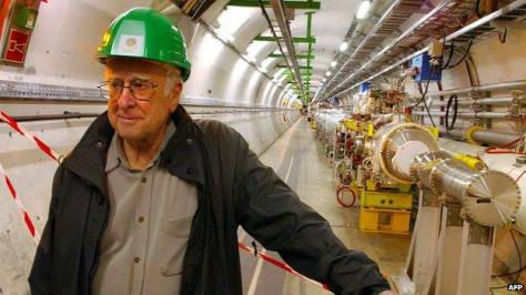Peter Higgs - photo (c) Physics Today