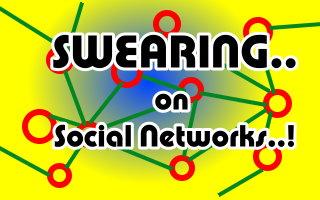 swearing on Social Network
