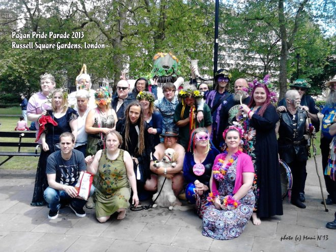 Giant returns to Pagan Pride Parade - London