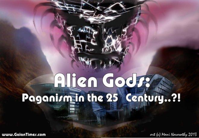 Alien gods -banner (c) Gaian Times & Mani Navasothy 2013