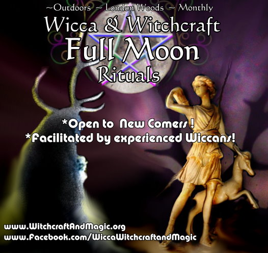 Wicca on a full moon