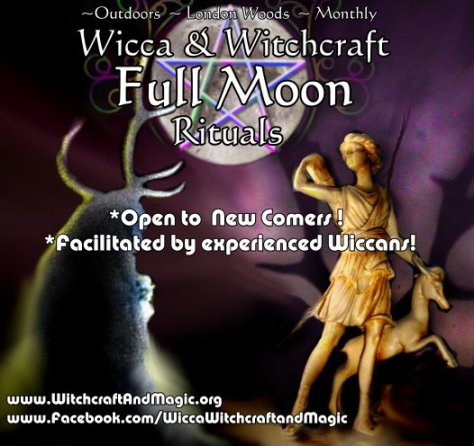 Wicca full moon rituals in London