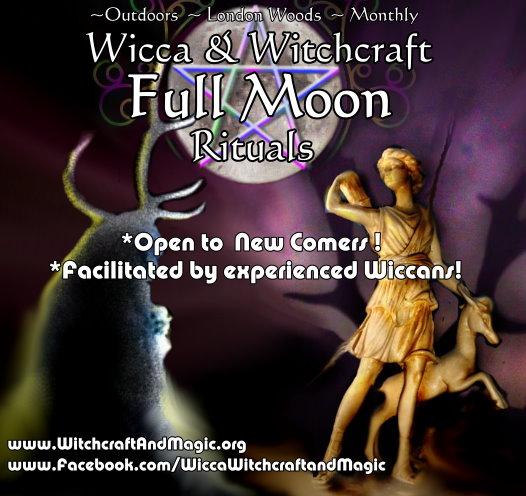 Wicca full moon rituals in London