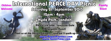 Peace Day at Hyde Park - 21Sept2013