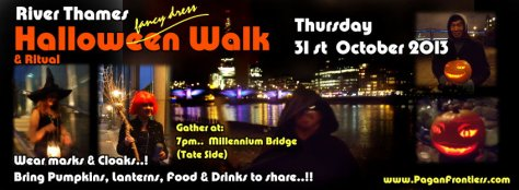 Thames Halloween Walk -31Oct2013