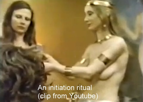 Video: A Wiccan Initiation into the Coven of Janet & Stewart Farrar (nudity involved)