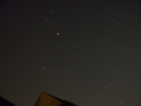 Jupiter & Orion the Hunter - unmarked photo (c) Mani N'13
