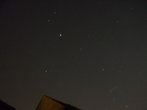 Jupiter & Orion the Hunter - unmarked photo (c) Mani N'13
