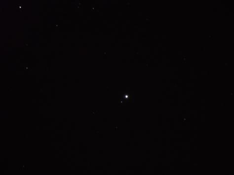 Close up of planet Jupiter (14Dec2013)  (c) Mani Navasothy