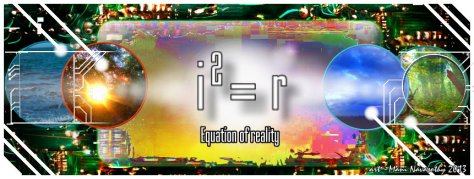 Equation of reality (c)Mani Navasothy 2013