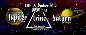 Jupiter trine-saturn 13dec13 (c) Mani Navasothy