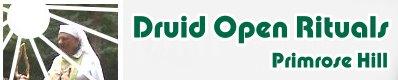 Druid Open Rituals - London Primrose Hill