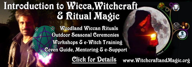 Introduction to Wicca Witchcraft Ritual Magic in London