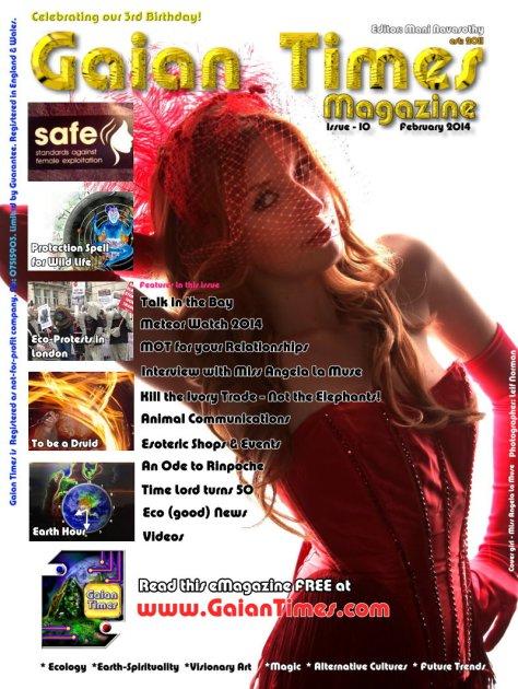 Gaian Times e-magazine issue#10. 10 Feb2014 www.GaianTimes.com