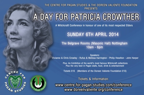Day for Patricia Crowther - CFPS conference poster