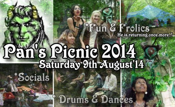 Pan's Picnic 2014 - London by www.PaganFrontiers.com