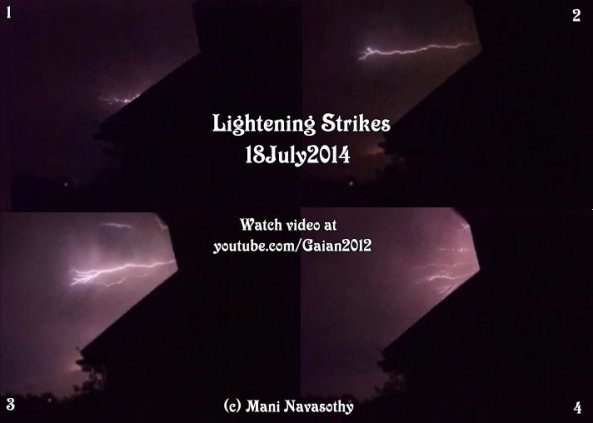 Watch Lightening Strikes at Gaian2012