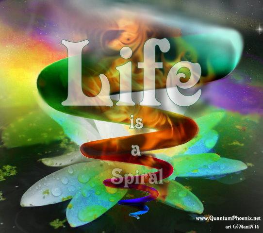 Life is a Spiral (c)ManiNavasothy2014