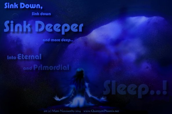 Primordial sleep (c) Mani Navasothy 2014