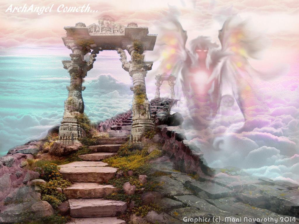ArchAngel Cometh (c) Mani Navasothy 2014