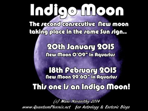 Indigo Moon in Aquarius 18Feb2015 (c) Mani Navasothy