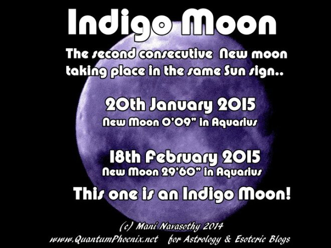 Indigo Moon in Aquarius 18Feb2015 (c) Mani Navasothy