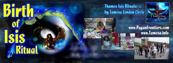 Birthday of Goddess Isis - July 2015 ritual in London
