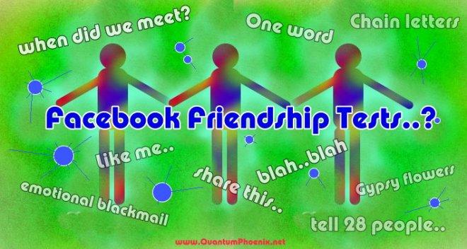 facebook friendship test (c) Mani Navasothy 2015