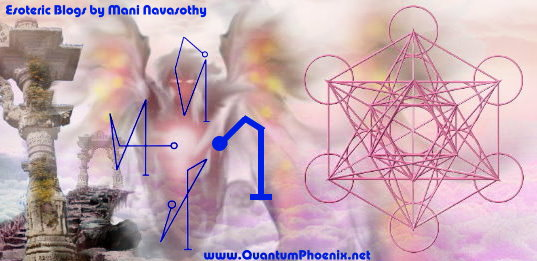 Angelic Magic: Creating Archangel names in sigil form for Raphael, Michael, Gabriel & Uriel