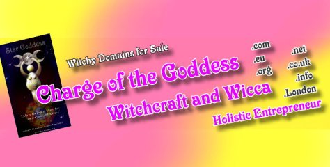 Charge of the Goddess - domain for sale - feature QP