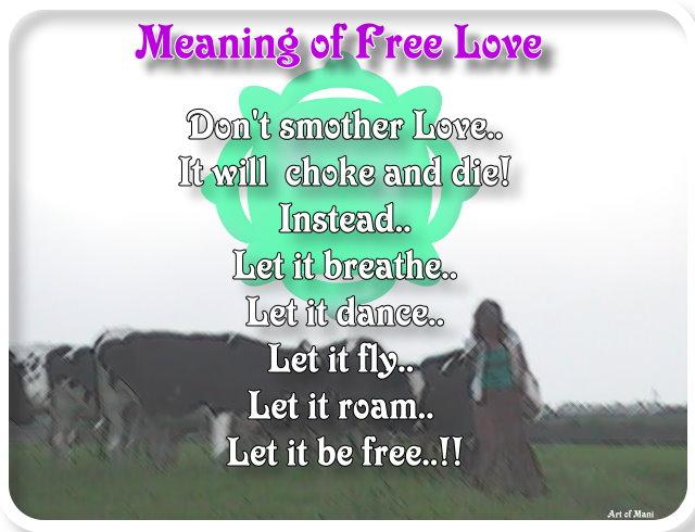 Free Love (c) Mani Navasothy 2015