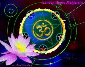 London Hindu Magicians logo