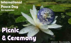 Peace Day 21 September - Ceremony